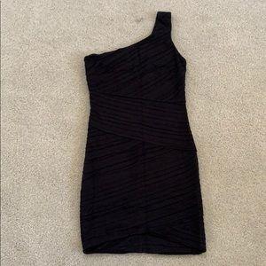 Torn by Ronny Kobo one shoulder dress